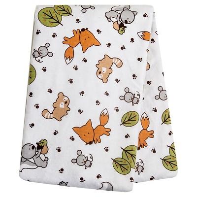 Trend Lab Forest Animal Flannel Swaddle Blanket