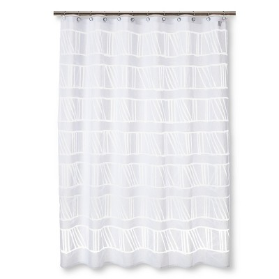 Burnout Shower Curtain Nate BerkusTM BrickSeek
