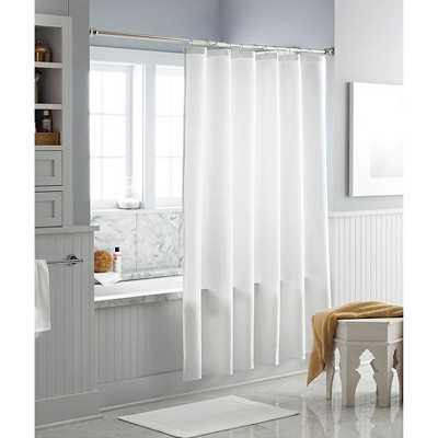 Multi-Stripe Shower Curtain Winter White - Threshold™