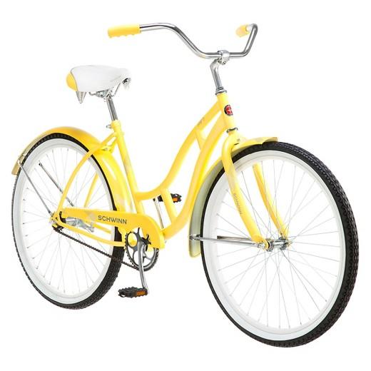 Schwinn Women S Legacy 26 Quot Cruiser Bike Yellow Target
