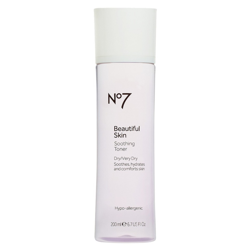 No7 Beautiful Skin Soothing Toner Dry/Very Dry - 6.7oz