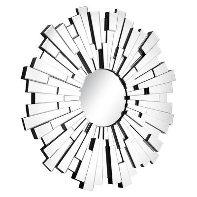 Retro 47  Round Decorative Wall Mirror - ZM Home
