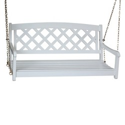 X-Back Wood Porch Swing