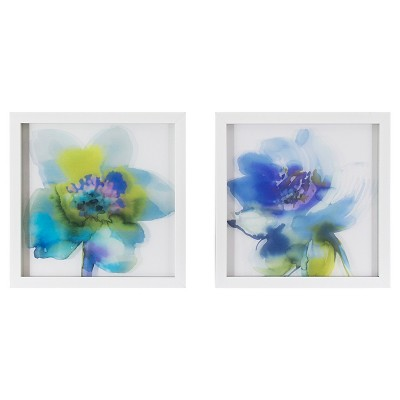 2 Pack Print on Glass 12x12