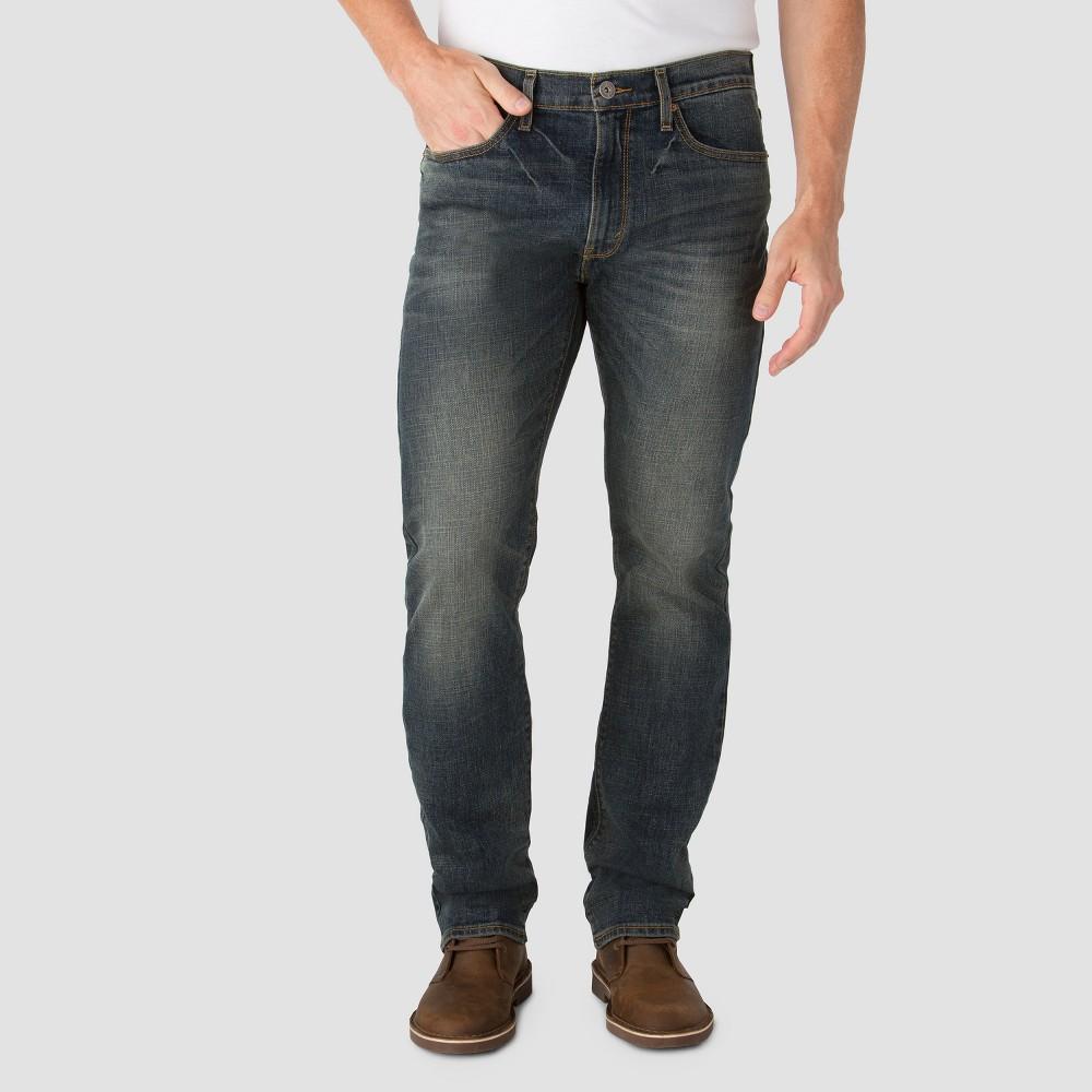 Denizen from Levi's Men's Slim Straight Fit Jeans 232 Grey Peak 30X32, Blue