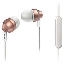 Philips Fashion Metallic-Housed In-Ear Headphones with Mic