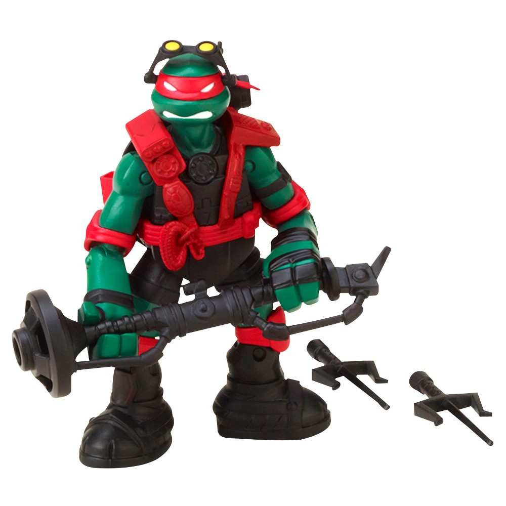 Teenage Mutant Ninja Turtles Stealth Tech Action Figure - Raphael, Multi-Colored