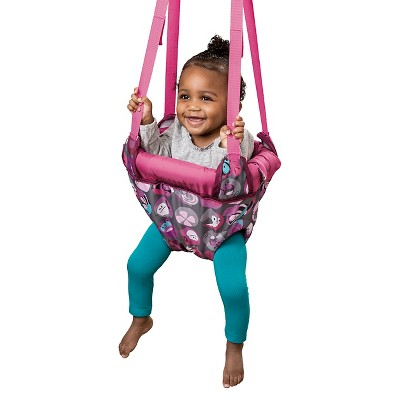Evenflo® Exersaucer Door Jumper Pink Bumbly
