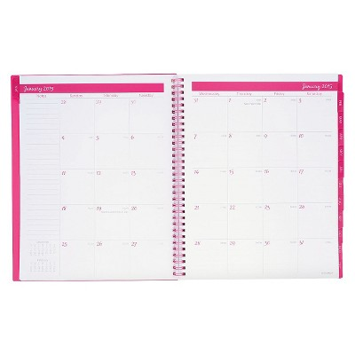 2015 AT-A-GLANCE® Color Play Weekly Monthly Planners - Pink/White