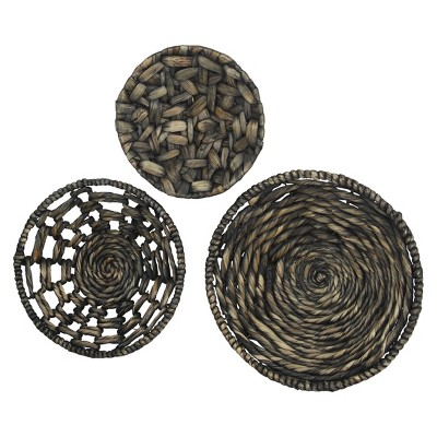 Woven Hanging Wall Décor - Set of 3