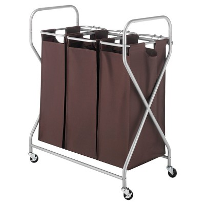 Threshold 3 bag sorter with lift handles