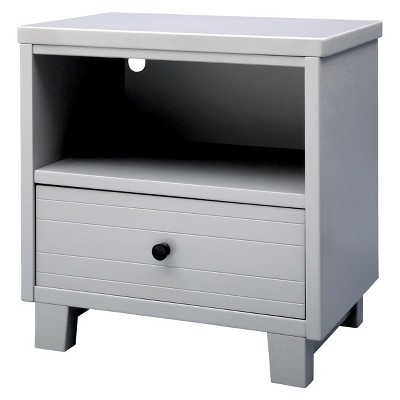 Simmons® Kids Rowen Nightstand - Gray