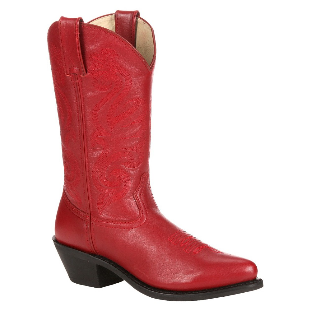 Womens Durango Classic Western Boots - Red 8M, Size: 8