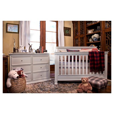 Million Dollar Baby Classic Foothill Louis 6 Drawer Changer Dresser