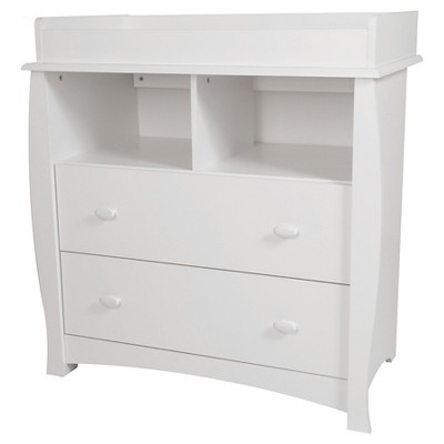 Beehive Changing Table with Removable Top - Pure White