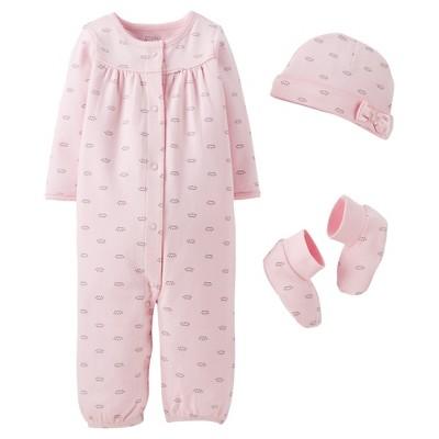Precious Firsts™Made by Carter's® Newborn Girls' Converter Gown Set