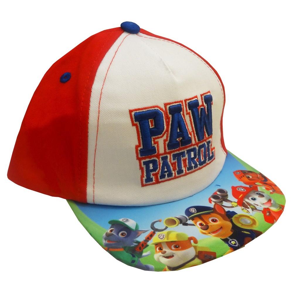 Toddler Boys Paw Patrol Baseball Hat - Red, Blue
