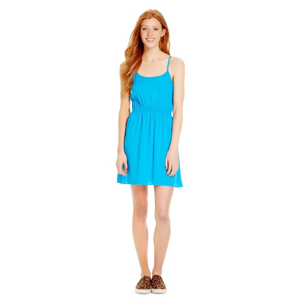 Strappy Challis Dress Hawaiian Blue XS - Mossimo Supply Co., Womens