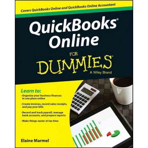 Quickbooks Online For Dummies Paperback Elaine Marmel Target - How to creat an invoice catholic store online