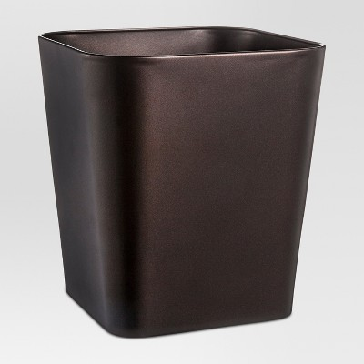 Wastebasket Rounded Square Bronze - Threshold™