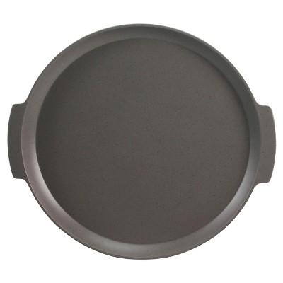 Round Serving Tray Melamine Speckled Gray - Threshold™