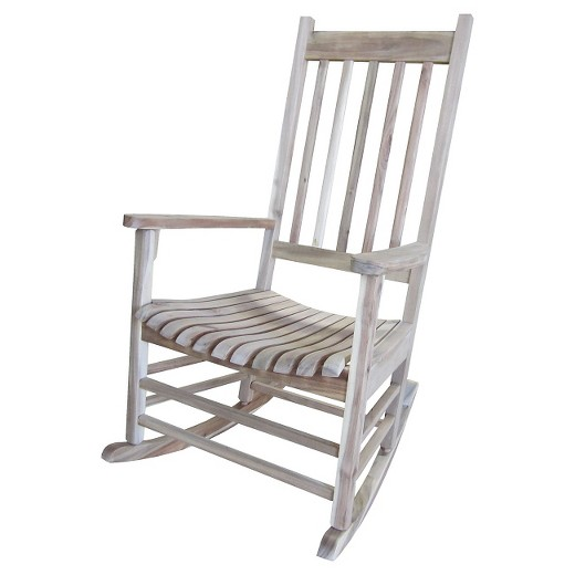 International Concept Patio Rocking Chair Unfinished