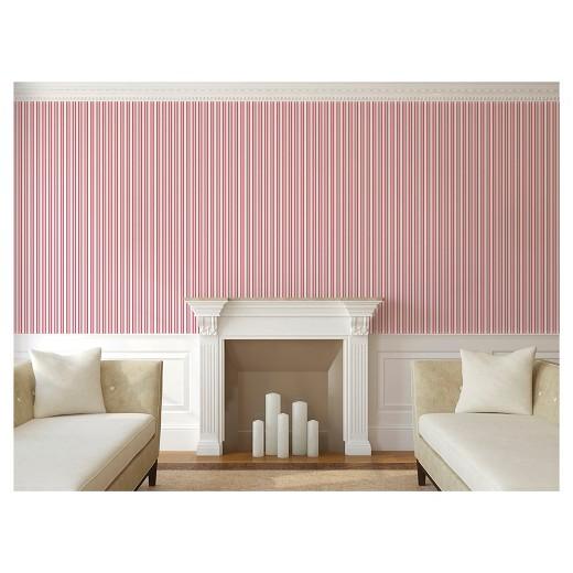 devine color stripe peel stick wallpaper petal target