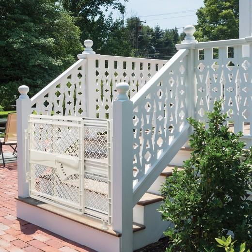 Summer Infant® Walk Thru Multi-Function Baby Gate (Indoor/Outdoor ...