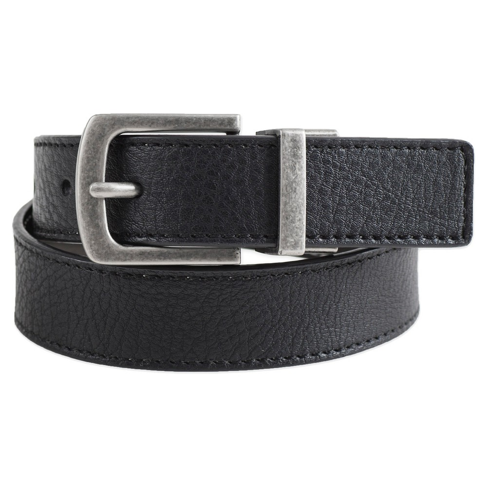 Boys Twist Harness Casual Reversible Belt - Cat & Jack Black/Brown XL, Multicolored