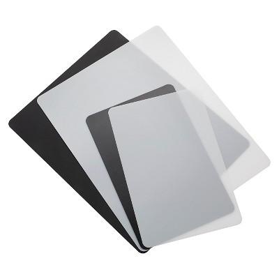Farberware 4 Piece Flexible Cutting Board Mat Set