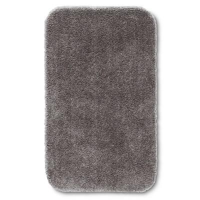 Room Essentials™ Bath Rug - Flat Gray (23.5x38 )