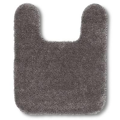 Room Essentials™ Contour Bath Rug - Flat Gray (20x24 )