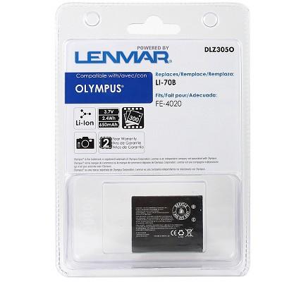 Lenmar Battery for Olympus LI-70B - Black (DLZ305O)