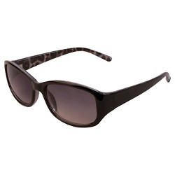 Women's Rectangle Sunglasses- Black