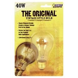 Feit 40-Watt Vintage AT19 Incandescent Light Bulb - Soft White