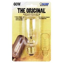 Feit 60-Watt Vintage T12 Incandescent Light Bulb - Soft White