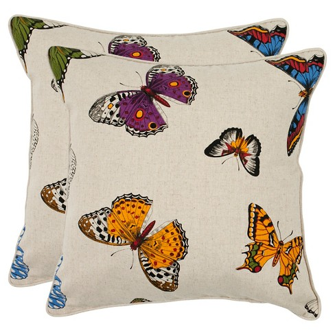 Emilie Throw Pillow 2 Pack - Safavieh® - image 1 of 2