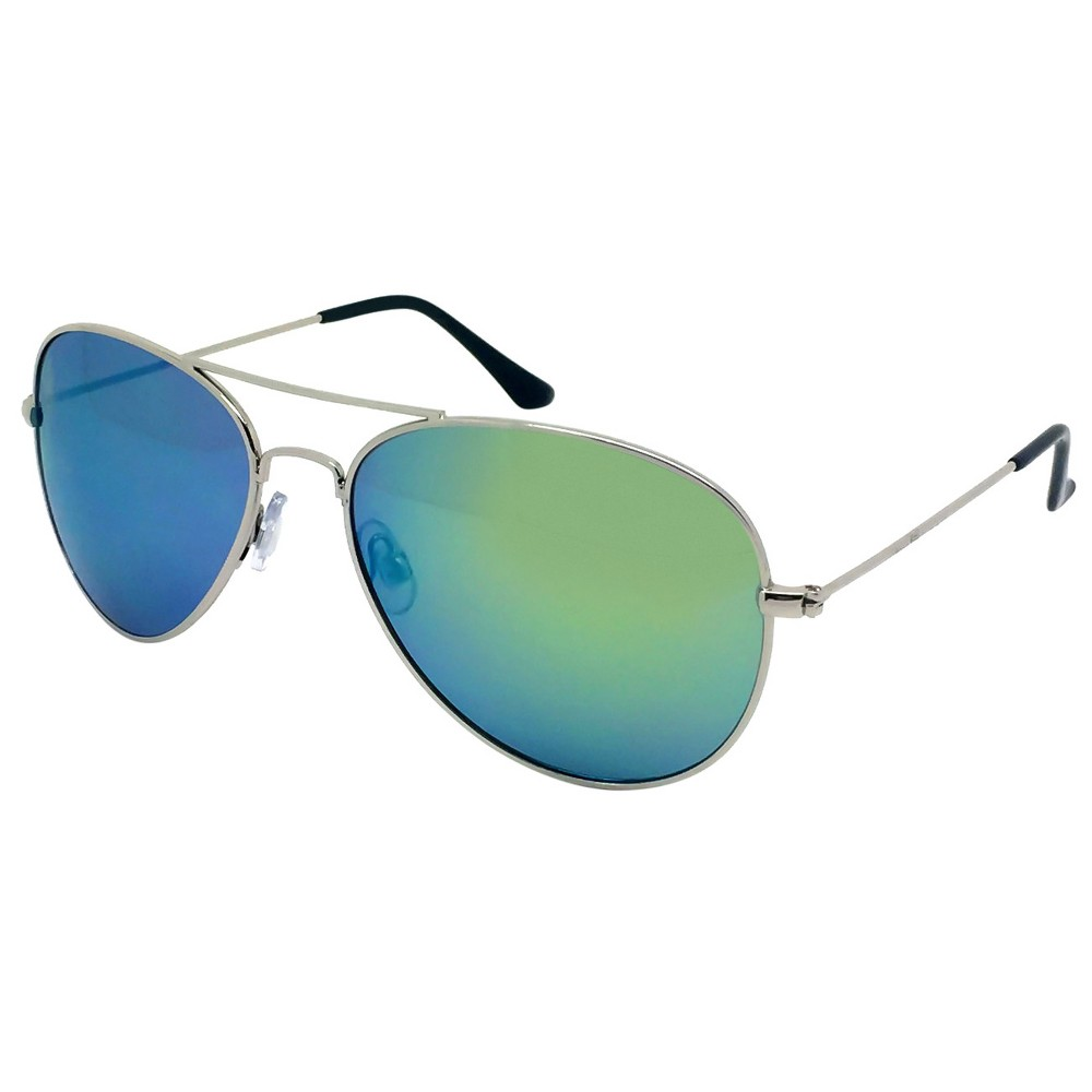 Womens Aviator Sunglasses - Silver, Light Silver