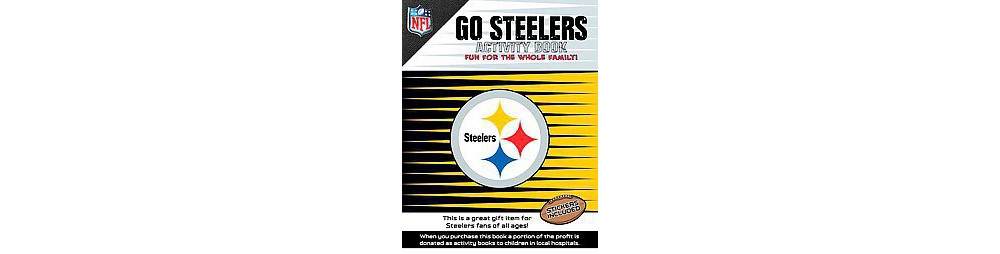 Go Steelers Activity Book (Paperback)