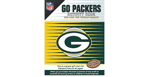 Go Packers Activity Book (Paperback) - image 1 of 1