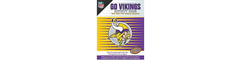 Go Vikings Activity Book (Paperback)