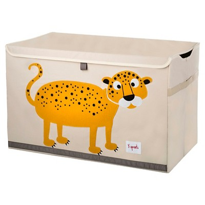 3 Sprouts Collapsible Storage Toy Chest   Leopard