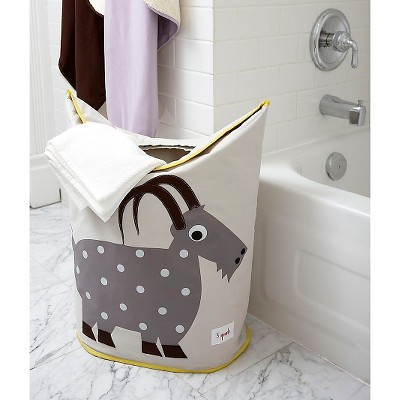 3 Sprouts Canvas Storage Hamper   Goat