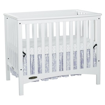 Child Craft London Mini Crib - White