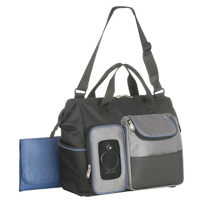 Graco® Bijou Clamshell Duffle Diaper Bag