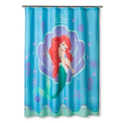 Little Mermaid Shower Curtain