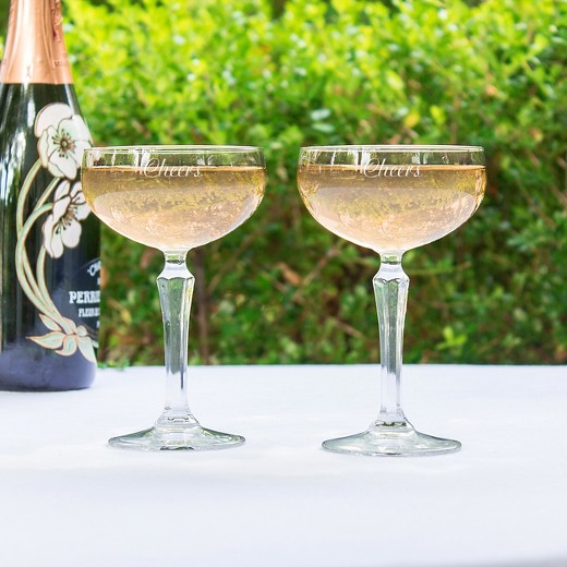2ct cheers champagne coupe wedding toasting flutes target. Black Bedroom Furniture Sets. Home Design Ideas