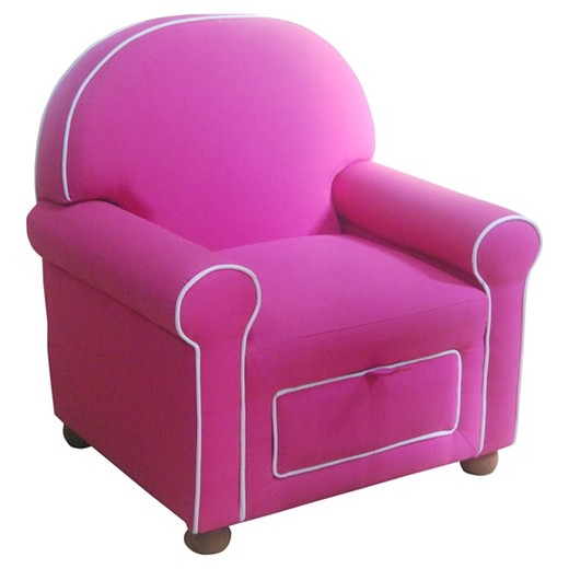 Kids upholstered chair pink homepop target for Pink kids chair