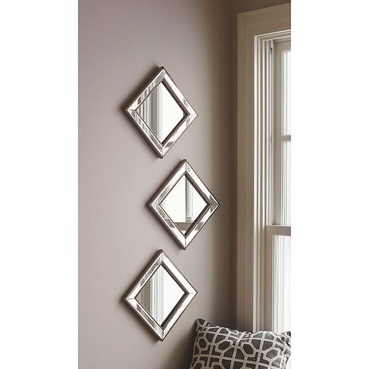Wall Mirror Set Of 3 square mirror set of 3 black - threshold™ : target