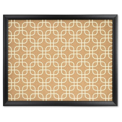 Ubrands Framed Designer Cork Board - 16  x 20